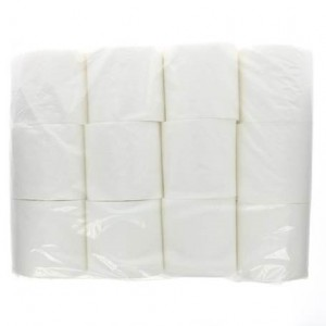 Image for Ecoleaf Toilet Tissue Bulkpack - 5 x 12 pack, 100% recycled, sourced exclusively from the UK, in partnership with Treesponsibility