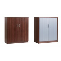 Image for Everyday Tambour Cupboard 1244 x 1060 x 500mm