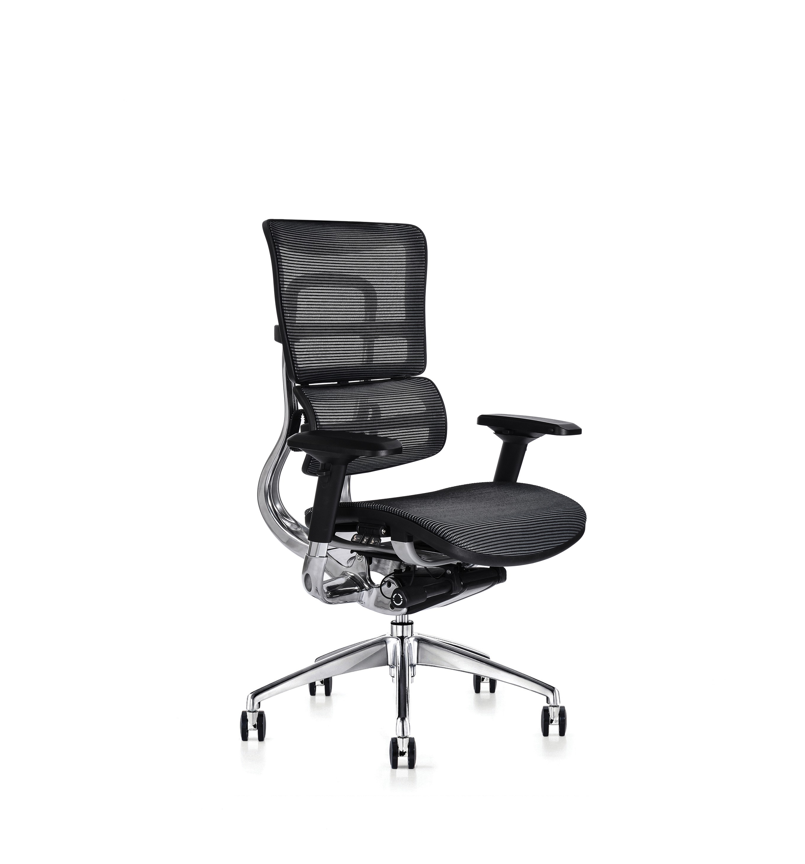 i29 - Comfort ergonomic, including the lumbar and pelvic support system and intuitive controls, it is simple for any user to quickly adjust and sit comfortably, correctly supported with dynamic movement from the moment they sit in the chair.