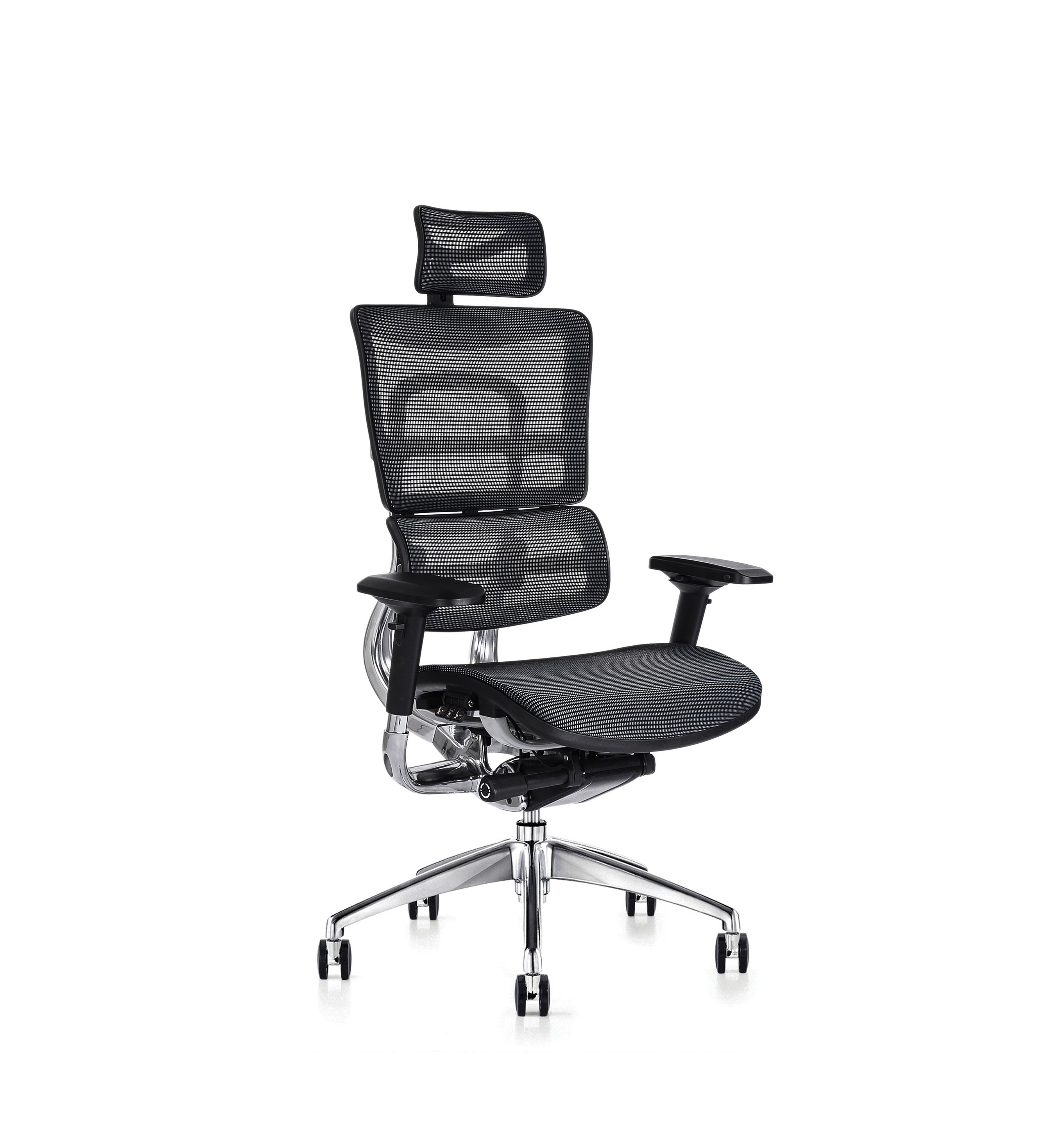 i29 with headrest - Comfort ergonomic, including the lumbar and pelvic support system and intuitive controls, it is simple for any user to quickly adjust and sit comfortably, correctly supported with dynamic movement from the moment they sit in the chair.