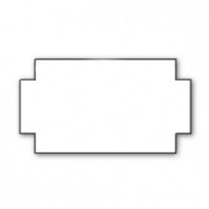 Image for 26 x 12 Pricing Gun Labels No Security Breaks Removeable Boxed 54,000 Labels (36 rolls )