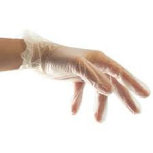 McKinnon Medical LARGE Vinyl Powder-Free Non-Sterile Gloves (Box 100)