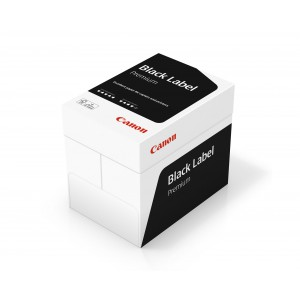 Canon Black Label Premium ECF A4 Paper 80gsm (Pack of 2500) WOP412
