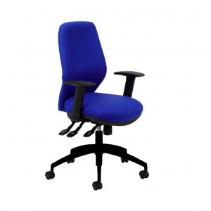Image for Sculpt SCT11ADJ Task Chair Band 1 Fabric - Adjustable Arms