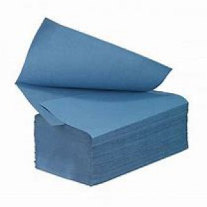 Image for Interfold Blue 1ply PK3600 (L8)