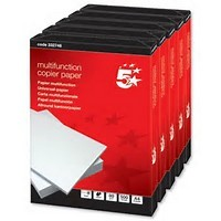 Image for 5 Star 80g A4 Copy Paper Ream 500 Sheets