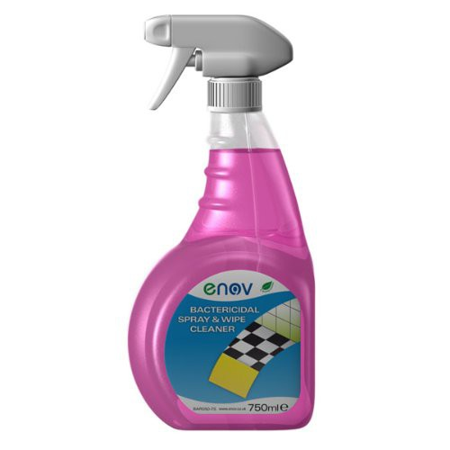 Enov Bactericidal Spray & Wipe 750ml
