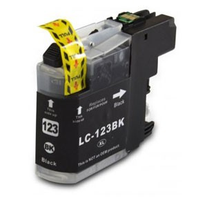 Brother Compatible LC123 Black Ink Cartridge
