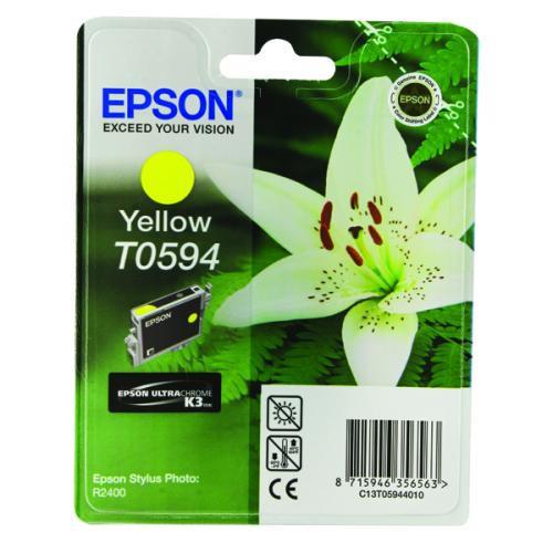 Epson T0594 Yellow Ink Cartridge