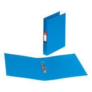 Contract A4 2 Ring Binder 25mm Polypropylene Blue