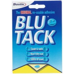 *Bostik Blu-Tack Handy Pack 60gm 801103 Singles  V-EX25