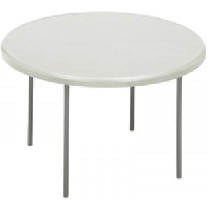 Jemini 1220mm Folding Round Table Grey KF72331