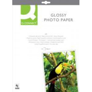 *Q Connect Photo Gloss Paper A4 180gsm Pack of 20 KF01103 (PC2737)