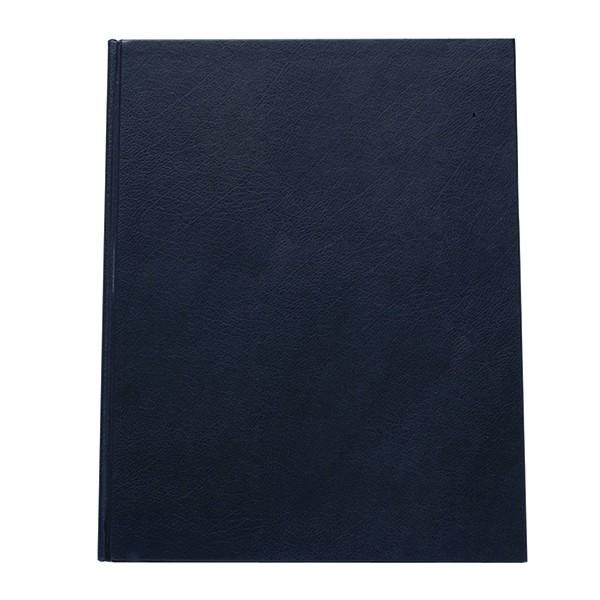 Q-Connect Blue A4 Ruled Manuscript Book