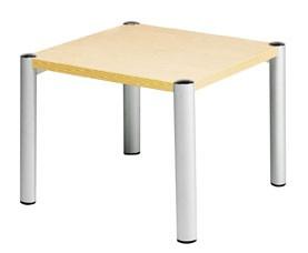 SQUARE RECEPTION COFFEE TABLE 635 x 635 MAPLE