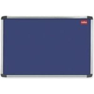 Nobo Notice Board 900x600mm Aluminium Frame Blue AF32 30230174