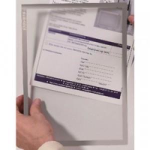 Franken A4 Grey Document Holder Magn Pk5
