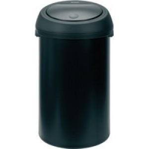 Touch Bin 50 Litre Black 374038