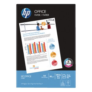 HP A4 White 80gsm Paper 5x Reams HPF0317