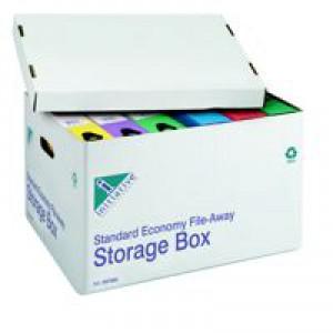 Initiative Fileaway Econ Stor Box White