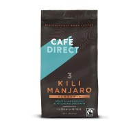 Image for Cafe Direct Kilimanjaro Ground Coffee Fairtrade 227g Ref FCR0004 CDQ4