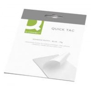 *Q Connect Quick Tac Adhesive Putty 140gm KF04591 (blue tack equivalent) (930724) 610073 (X24)