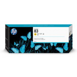 HP 83 Yellow UV Inkjet Cartridge C4943A