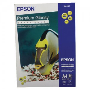 Epson Prem Glossy A4 Photo Paper Pk50