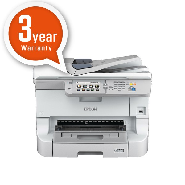 Epson WorkForce Pro WF-8590DWF A3 Colour Inkjet Multifunctional Printer C11CD45301BY