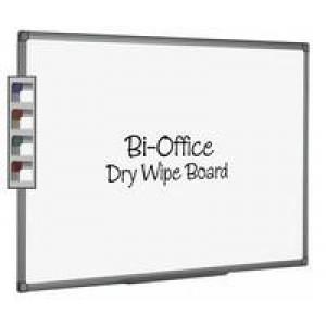 Bi-Office Whiteboard 600x900mm Aluminium Finish MB0712186