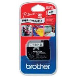 Brother P-Touch MK221 Tape 9mm MK-221 Black/White M-K221BZ