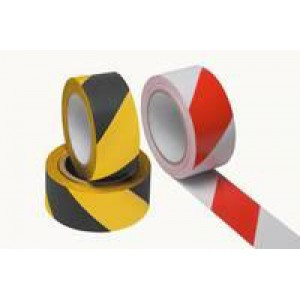 Ambassador Vinyl Tape Hazard Yellow/Black 50mm x 33Metres PVC-50-33-HAZYB