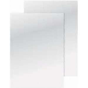 Q-Connect A4 White Binding Covers 250gsm
