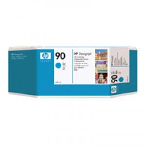 HP 90 Cyan Inkjet Cartridge Pk3 C5083A