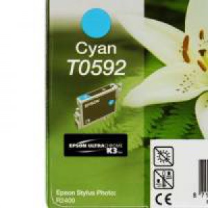 Epson T0592 Cyan Inkjet Cartridge