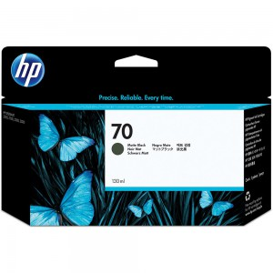 HP 70 Black Inkjet Cartridge C9448A