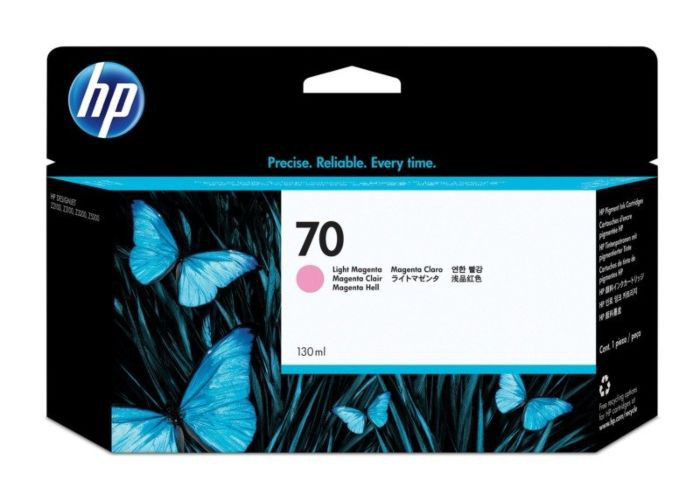 HP 70 Light Magenta Ink Cartridge C9455A