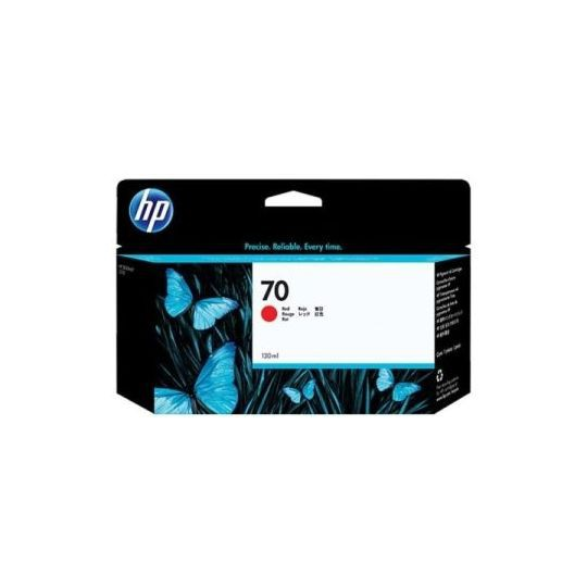 HP 70 Red Inkjet Cartridge C9456A