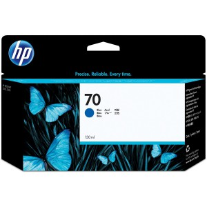 HP 70 Blue Inkjet Cartridge C9458A