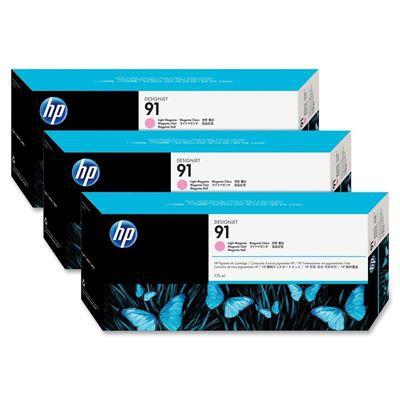 HP 91 Light Magenta Ink Pk3 C9487A