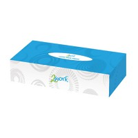 Image for Facial Tissue Cube Cream Box KMAX10010