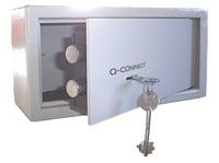 Q Connect Key-Operated Safe 6 Litre H150xW200xD200mm