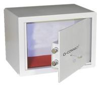 Q Connect Key-Operated Safe 10 Litre H200xW310xD200mm