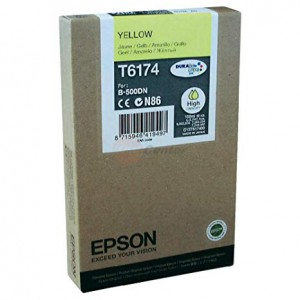 Epson B-500DN High Capacity Inkjet Cartridge Yellow C13T617400