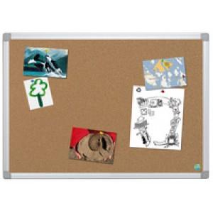 Bi-Office Earth-It Aluminium Frame Cork Board 1200x900mm CA051790