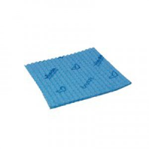 Vileda Breazy Microfibre Cloth Pack of 20 Blue 137638