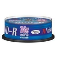 Verbatim DVD-R 16X Spindle Pack of 25 43522