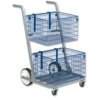 Image for Versapak Major Mail Trolley Silver MT2SIL