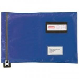 Versapak Flat Mailing Pouch 355x381mm Blue CVF2