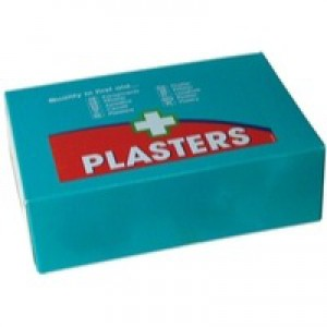 Wallace Cameron First-Aid Kit Blue Detectable Plasters 3 Assorted Sizes Oblong Ref 1214037 [Pack 150]
